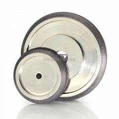 电镀CBN砂轮成型研磨机械高速钢合金木工带锯条 可订做各种齿形