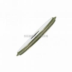 东莞厂家订做电镀强力开槽砂轮 双斜边30度 磨V型槽开刃合金磨轮