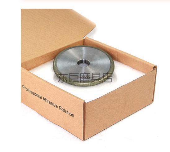 广东成型刀具订制 R5电铸金刚石砂轮 用于精密研磨光学玻璃镜片 4