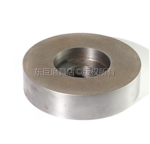 訂做6A2杯形端面磨電鍍金剛石氮化硼砂輪  300外徑合金拋光磨盤 5