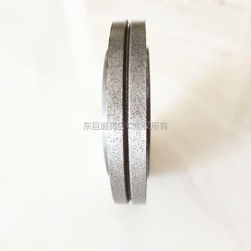 來圖訂製 修整蝸杆行業砂輪專用電鑄金剛石滾輪 電鍍結合劑 3