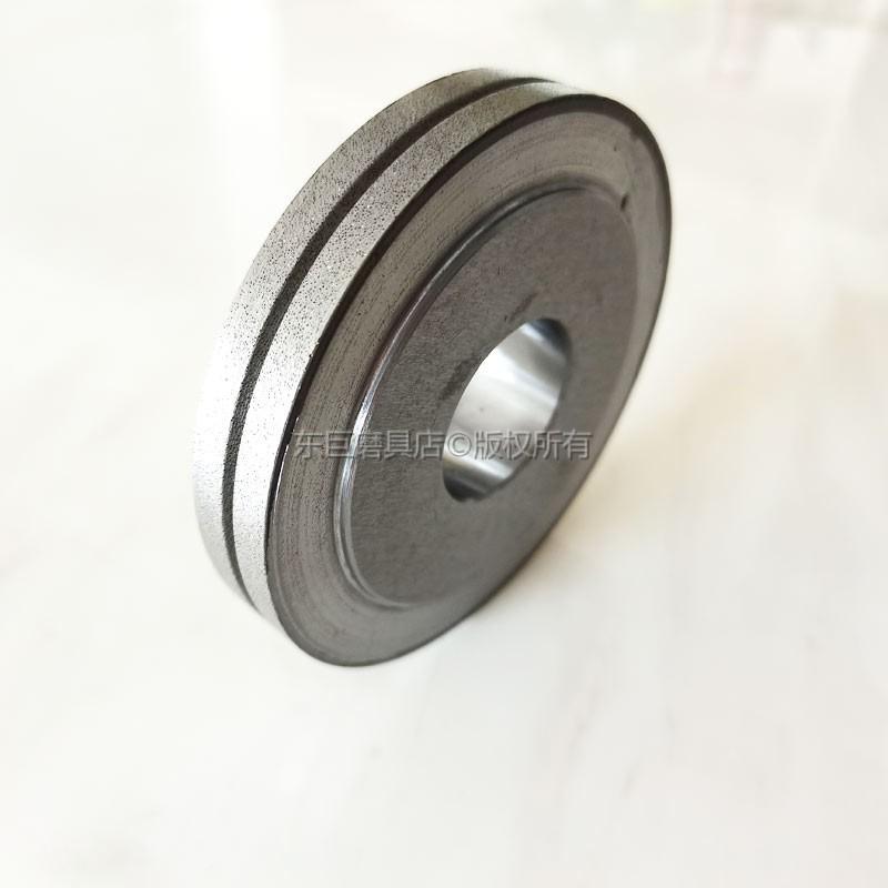 來圖訂製 修整蝸杆行業砂輪專用電鑄金剛石滾輪 電鍍結合劑 1