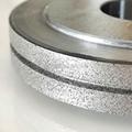 來圖訂製 修整蝸杆行業砂輪專用電鑄金剛石滾輪 電鍍結合劑 4