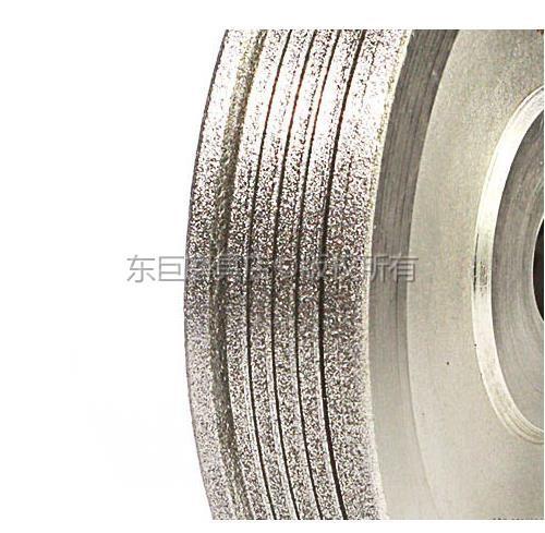 東莞訂做異型多槽電鍍CBN砂輪 成型專用無需修整 5