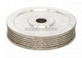 东莞订做异型多槽电镀CBN砂轮