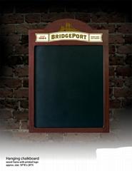 Hanging Wooden Chalkboard