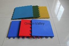 WPC interlocking tile for indoor futsal