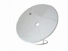 C band satellite antenna