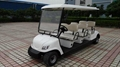 精緻小巧電動高爾夫球車