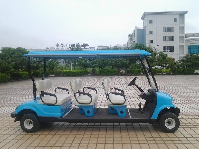 精緻小巧電動高爾夫球車 4