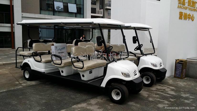 8座电动高尔夫球会所车 2