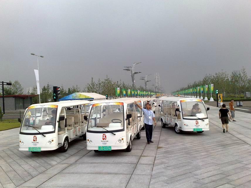 湖南电动观光车 4