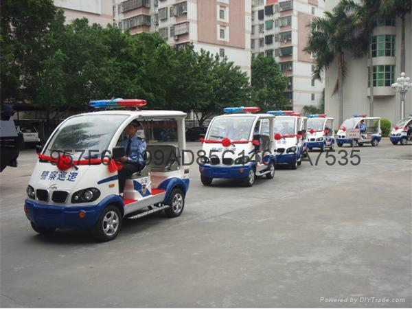 电动警务人员巡逻车 1