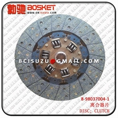 8980370041 Disc Clutch For Isuzu 4JJ1