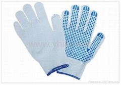cheap pvc dot work gloves supplier in China