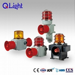 Heavy duty Warning Lights beacons with Horn for Vessel