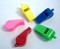 塑料环保6字形裁判口哨。 4