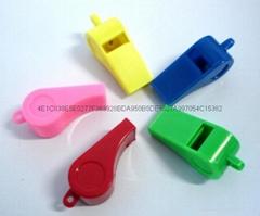 儿童塑料环保夜光多型口哨