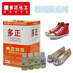 粘PVC革運動鞋PU膠