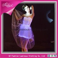 Luminous Lace Evening Dress YQ-42