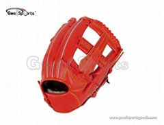 Real leather Baseball Gl