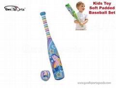 儿童充棉棒球棒手套球