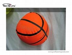 stuffed basketball toy