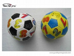 stuffed pp cotton soccer  football toy