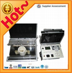 Automatical transformer oil tester, outputing voltage 60kV,80kV and 100kV