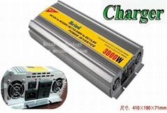 3000W Power Inverter with Charger AC Converter Watt Inverter Power Supply Meind