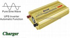 1000W Power Inverter Pure Sine Wave with UPS AC converter Watt Inverter Meind