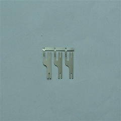 0.15 x 28 x 13.5mm Soldering Battery Terminal Connector with 1A AC/DC Current Ra