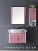 PVC Bathroom Cabinet  H6