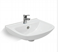 Oak Wood Bathroom Cabinet   H644