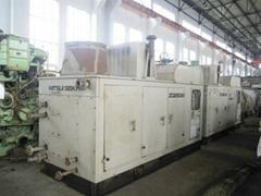 四台日本三井 ZD250W 柴油單螺杆空壓機組特價處理