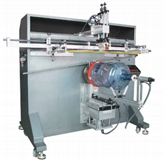 5A包装大圆桶丝网印刷机