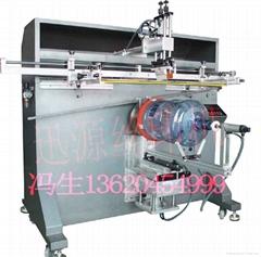 大圓桶圓面絲網印刷機