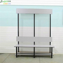 Compact Laminate Panel Shower Room Bench