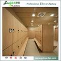 Jialifu design modern woodgrain hpl laminate lockers 3