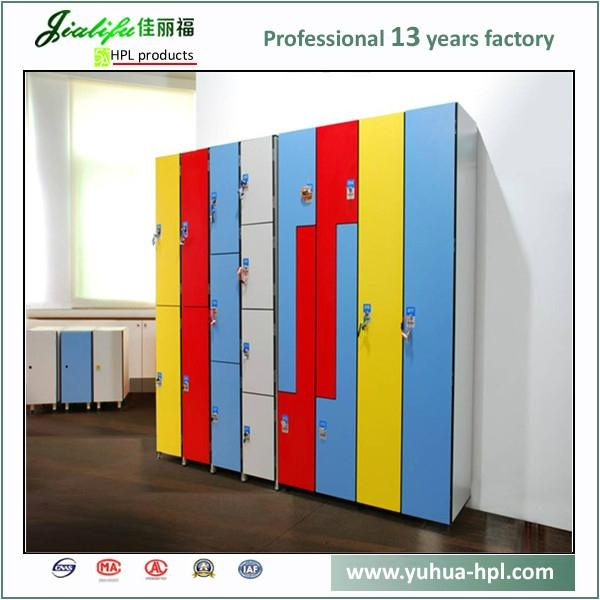 Hot selling laminate storage lockers 5