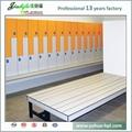 Jialifu European style 1800mm high gym lockers 4