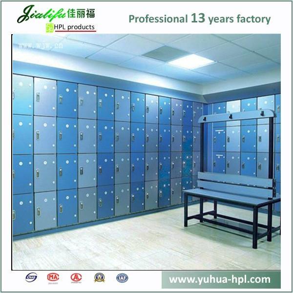Solid Compact Laminate Panel storage lockers 2