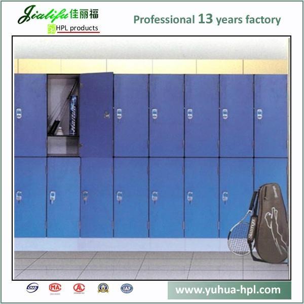 Solid Compact Laminate Panel storage lockers 3