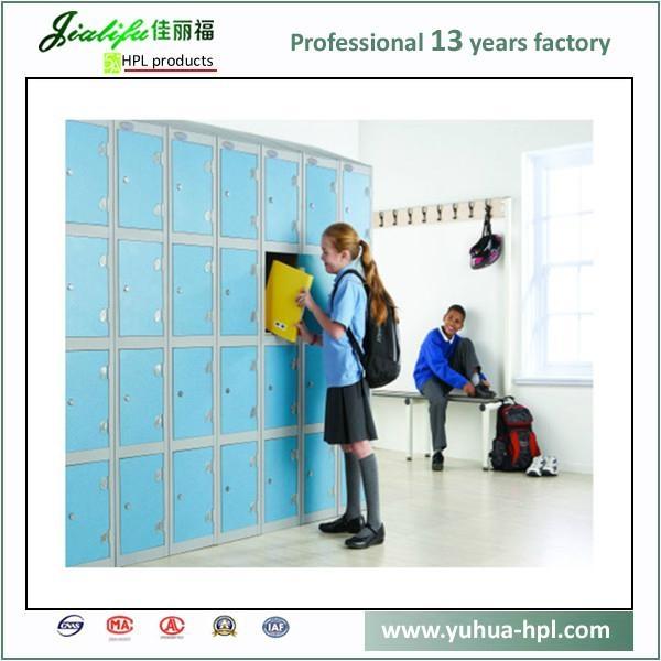 Solid Compact Laminate Panel storage lockers 4