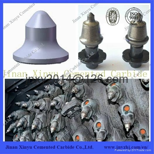Foundation Drill Use Carbide Road Milling Bit With Holder 1