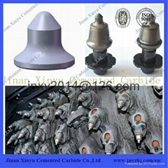 Foundation Drill Use Carbide Road Milling Bit With Holder