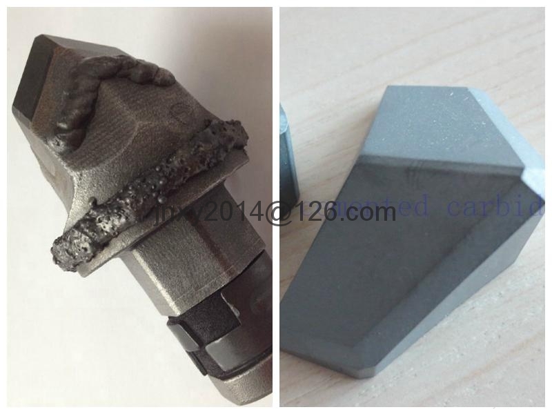 Cemented Carbide Snow Plow Tips For Road Milling 5