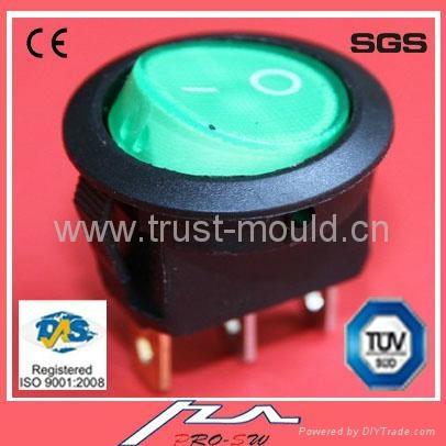 micro Water proof rocker switch 4