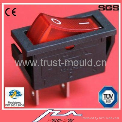 high quality 1e4 20a rocker switch with light 2