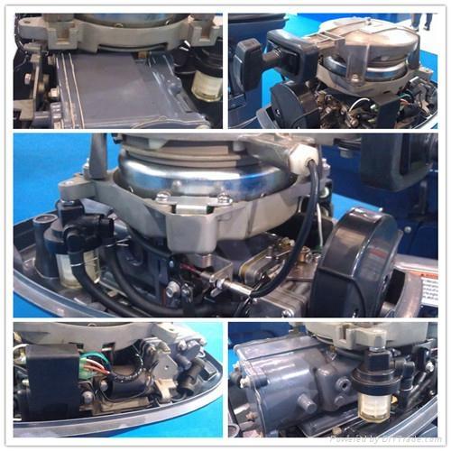 4hp 2stroke outboard motor 4
